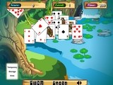Onlinovka, online flash hra Jungle solitaire